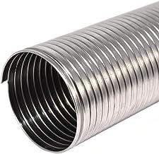 Tubo flessibile corrugato in acciaio inox per canna fumaria (DN 80 mm L 1 m)