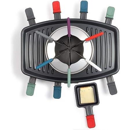 Livoo - Appareil à Raclette, Grill et Fondue DOC233 Noir