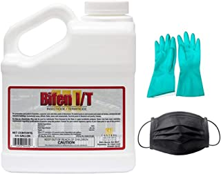 Bifen I/T Insecticide- 7.9% Bifenthrin 3/4 Gallon (Bundled with Pearsons Protective Kit)