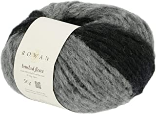 Rowan Brushed Fleece 274 Peat Degrade