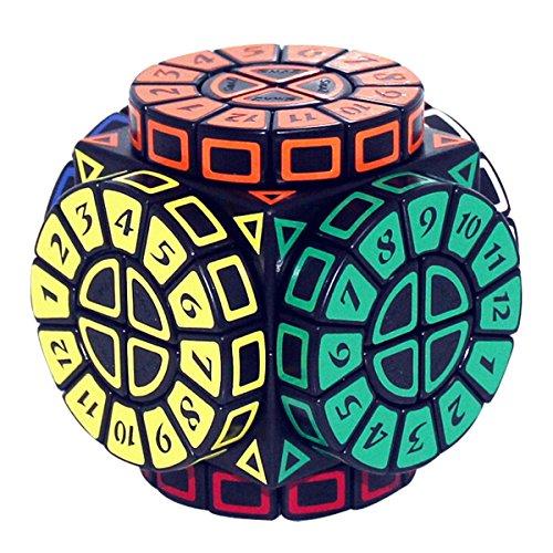 EasyGame Moyu Magic Zone Time Machine Cubo de velocidad Mágico Tiempo Mágico Mágico redondo mágico tercer orden cinco magia inteligencia alienígena rompecabezas mover el borde de la rueda de tiempo