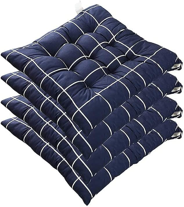 GDLQ Garden Max 89% OFF Product Chair Cushions with Ties Set x 40 4 40cm of