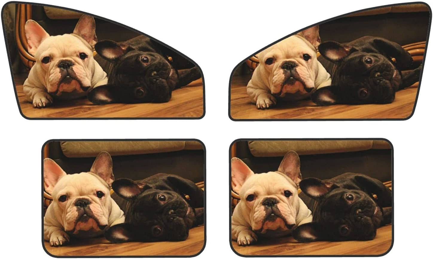 French Bulldog Car Magnets Protect Max 66% OFF Covers Privacy Sunshades New item Rear