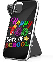 Case Phone Happy 100th Day of School Child Teacher Z2 Kids (6.1-inch Diagonal Compatible with iPhone 11)