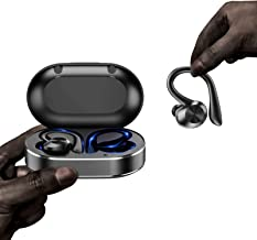 Sponsored Ad - True Wireless Earbuds Sport Bluetooth 5.1 Headphones with Microphone, Sweatproof Earbuds, TWS with U Lght, ...
