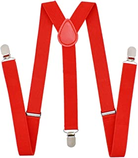 Cinny Suspender for Men and Women Polyester with Metal Clips