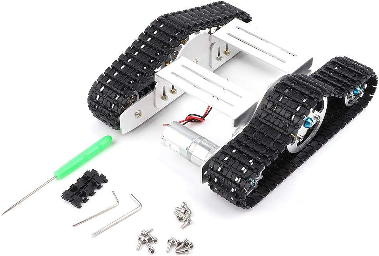 diseñador en linea VGEBY1 VGEBY1 VGEBY1 Chasis del Tanque, Chasis de vehículo de aleación de Aluminio Robot Chasis sobre orugas Juguetes para R3  precios bajos