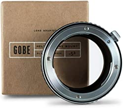 Gobe Lens Mount Adapter: Compatible with Nikon F Lens and Sony E Camera Body
