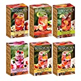 Bigelow Botanicals Cold Water Infusion Variety Pack Tea Bags 18 Count Box (Pack of 6), Herbal...