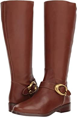 Brynn Signature Buckle Riding Boot