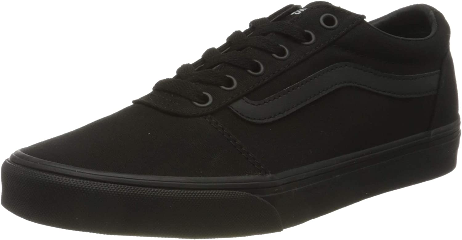 Vans Women's OFFicial Price reduction site Ward Trainers Canvas Sneaker