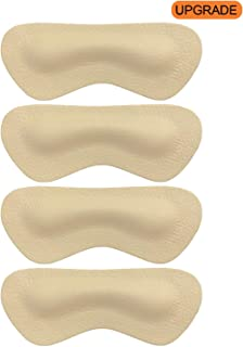 Heel Grip Liner Insert for Shoes Too Big,Shoe Filler Improved Shoe Fit and Comfort,Leather Prevent Blisters (Beige, Thicker)