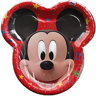 Disney Mickey Mouse Clubhouse Shape Dinner Plates