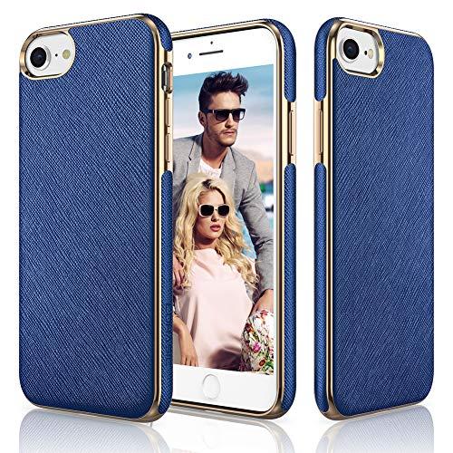 LOHASIC Coque pour iPhone SE, iPhone 8 Cuir PU Luxe Premium ...