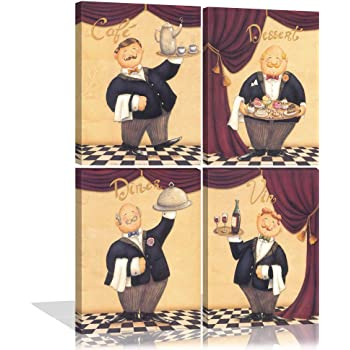 Drinking Sailor Canvas Art Painting Poster Kids Room Picture Wall Home Decor