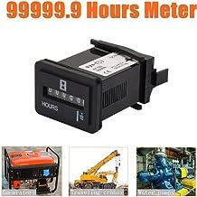 motori navali Contaore professionale per motori camion muletti veicoli trattori timer meccanico per auto ascensori AC150-220V//DC12-36V