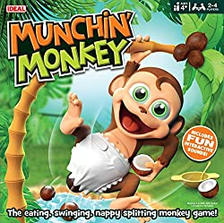 The eating, swinging, nappy splitting game Includes fun interative sounds!