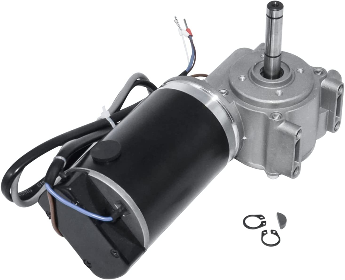 1 PC DC 24V 60W / 100W Motor de Engranaje de Gusano Encoder Inteligente Motor de Puerta eléctrica para hoteles Automático Puerta (Speed(RPM) : 60W 250RPM, Voltage(V) : 24V)