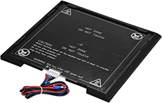 Tooart 3D Printer Aluminum Heat Bed 12V Build Surface with Removable Printing Platform Set for A8 3D Printer Accessories