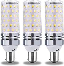B15/B22/E12/E14/E17/E26/E27 12W/16W LED Corn Light Bulb, 360° Beam Angle Edison Corn Lamp, 1284LM, AC80-265V, 3PCS,B15,16W...
