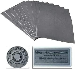 297 x 21 1x 2.3mm Gray Laser Rubber Sheet Printing Engraving Sealer Stamp Pad A4