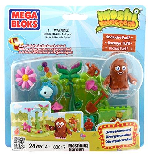 Moshi Monsters Mega Bloks Set # 80617 Jardin Moshling