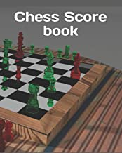 Chess Score book: Chess Records Book | Chess Notation Book | Chess Games Scorebook | Chess Match Log Book | Chess Score Sheets | 110 Games 90 Moves Chess Notation Book | Perfect Gift for Chess Lovers