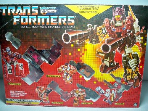 Transformers COMPUTRON G1 Combiner Autobots Reissue Edition