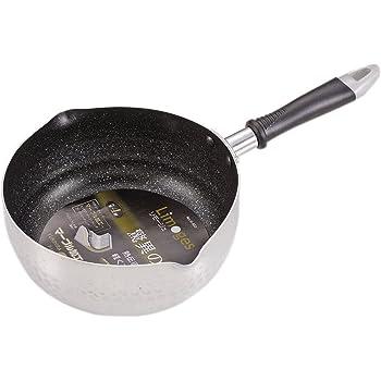 パール金属 雪平鍋 20cm ガス火専用 アルミ マーブル加工 リモージュ H-933