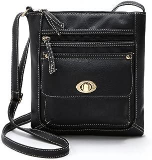 Women Shoulder Bags,Leather Satchel Cross Body Messenger Bags by-NEWONESUN