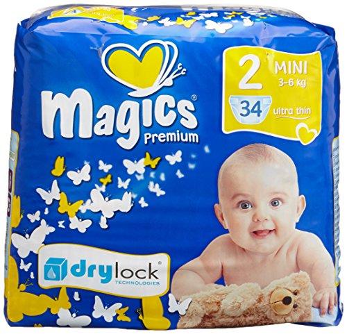 babies best Magics Premium 3.0 Windeln Gr.2 Mini 3-6 kg, 102 Windeln
