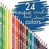 Zoom IMG-1 24 matite colorate acquerellabili numerate
