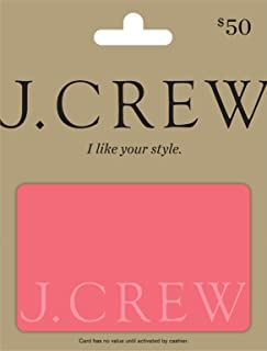 j crew gift card at outlet