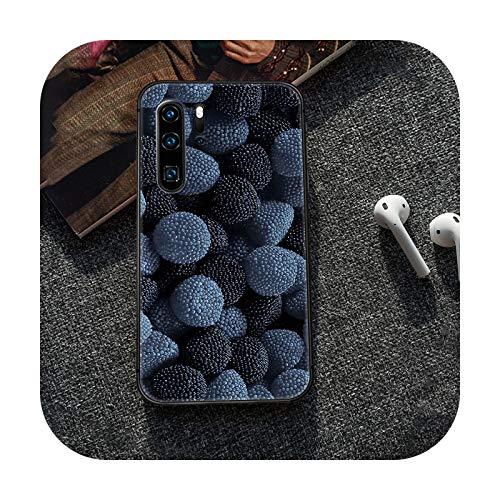Caricaturas frescas lindas frutas teléfono caso caso caso caso caso caso caso para Huawei P8 P9 P10 P20 P30 P40 Lite Pro Plus smart Z 2019 negro Coque Trend-10-P10 Lite