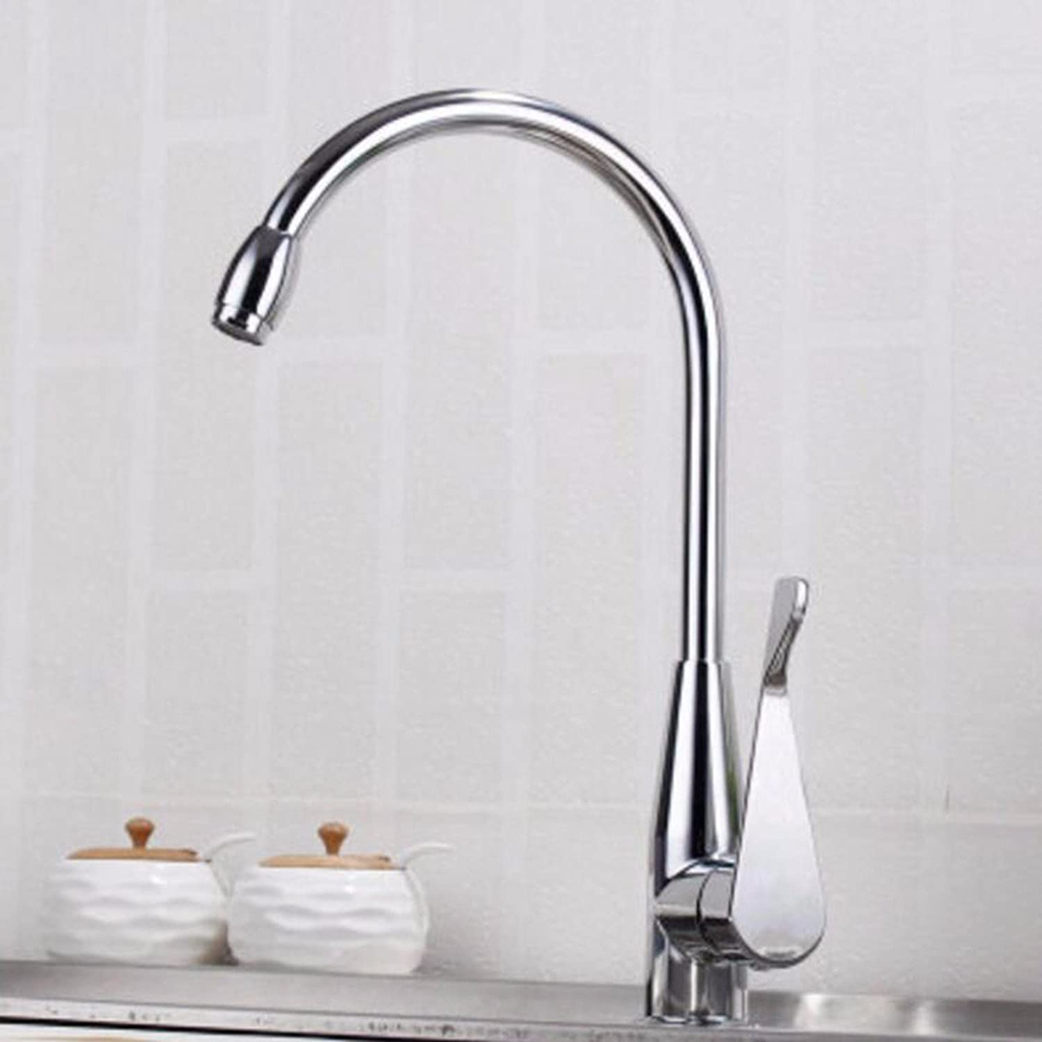 Kitchen faucet Kitchen Faucets, Hot And Cold, All Copper Wash Vegetable Pots, Sink, Faucet, Laundry Pool, Revolving Sink,D1