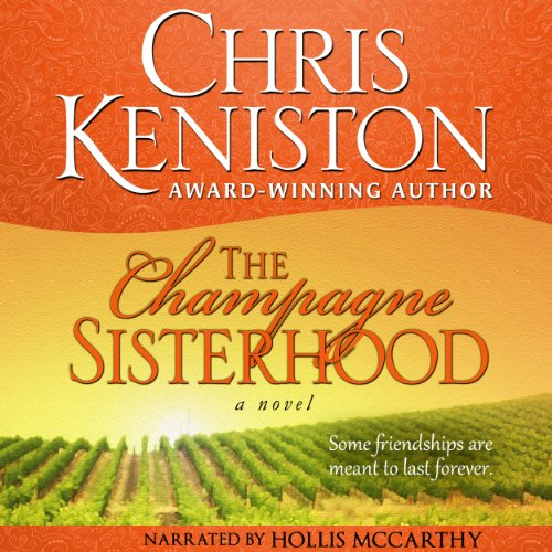 The Champagne Sisterhood audiobook cover art