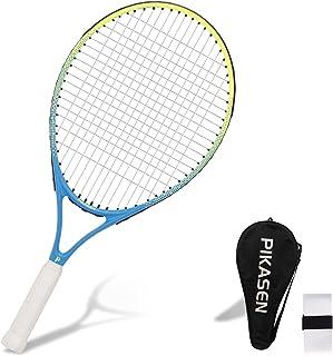 "PIKASEN 19""-23"" Kids Tennis Racket Best Starter Kit for Kids Age 9 and Under with Shoulder Strap Bag Toddler Tennis Raquet"