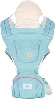 Baby and Child Carrier Backpack 3 in 1 Detachable with Hip Seat Suit for Newborn, Infant, Toddler, Kids Four Way Adjustable Non Slip Bridge Strap