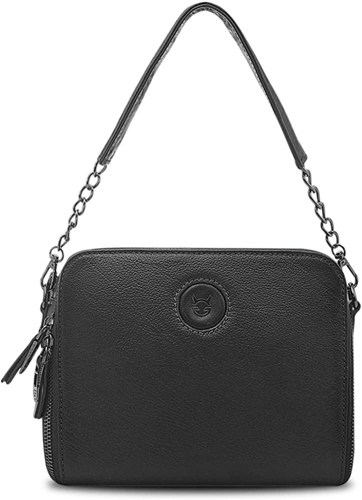 Small Genuine Leather Shoulder Bag for Popular with Women Reservation Be Removable 2