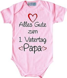 Shirtinstyle Kurzarm Babybody Body Alles Gute zum 1. Vatertag Papa Babybody, Baby, Geburt, Taufe, Strampler