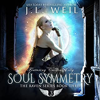 Soul Symmetry     Raven Series, Book 3              By:                                                                                                                                 J.L. Weil                               Narrated by:                                                                                                                                 Caitlin Kelly                      Length: 8 hrs and 27 mins     262 ratings     Overall 4.6