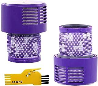 aotengou - Accesorios de Filtro para aspiradora Dyson V10 Series V10 Absolute, Animal, Total Clean, Motorhead, SV12 Robot, 2 Unidades