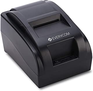 Everycom EC-58 58mm USB Direct Thermal Printer, 2-inch (Black, EC58BLK)