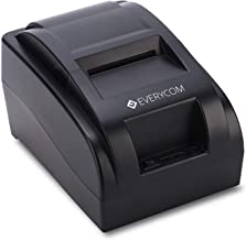 Everycom EC-58 58mm (2 Inches) Direct Thermal Printer USB - Monochrome Desktop (1 Year Warranty)