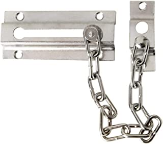 WOLFPACK LINEA PROFESIONAL 3090442 Cadena Seguridad Puerta Plateada (Blister 1 Pieza)