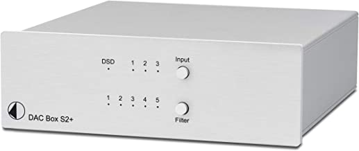 Pro-Ject DAC Box S2 Plus Digital to Analog Converter - Silver