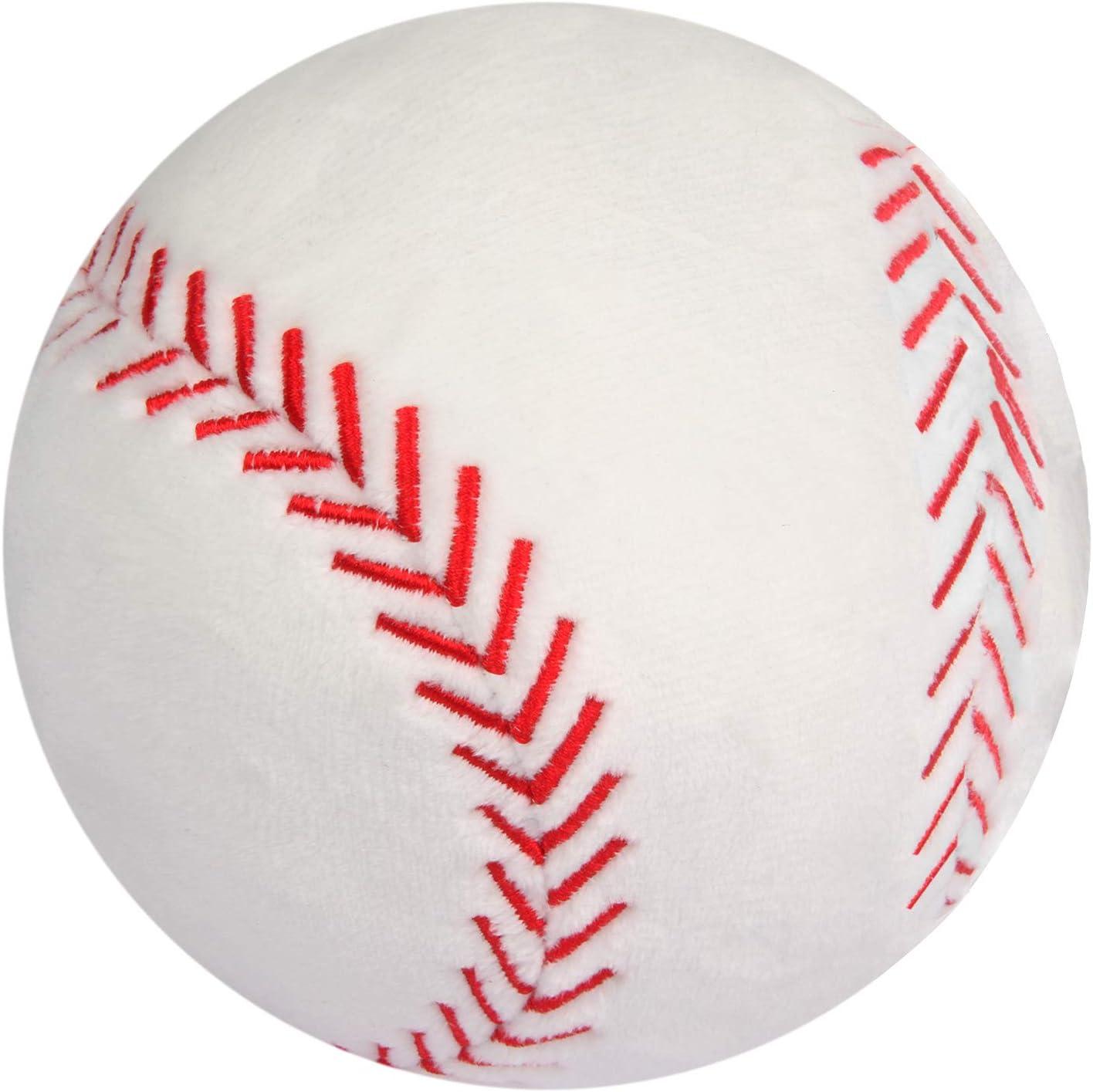 """Brown Bunny /& Baseball Plush 9"""" Stuffed Animal Super Soft Softball Tee Ball"""