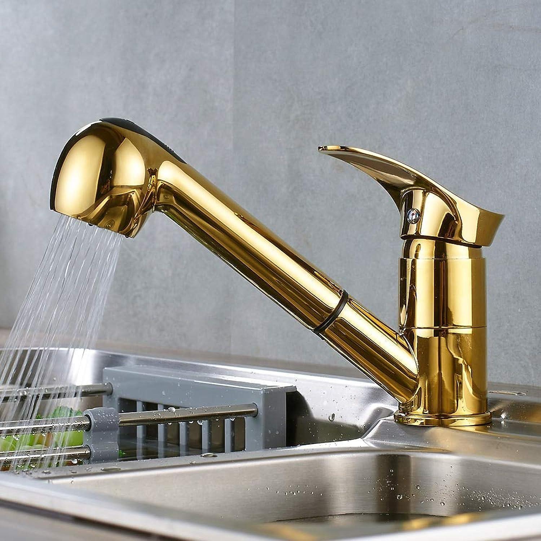 Wasserhahn Küche Waschbecken Badezimmer Küchenarmaturen 360 Grad Swivel Pull Out Spüle Wasserhahn Wassersparbecken Kran Mischbatterien Messing