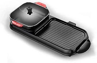 WLGQ Pots Chauffants électriques Grils électriques Poêles à Frire 2200W Hot Pot à Chaleur Rapide avec intérieur électrique...