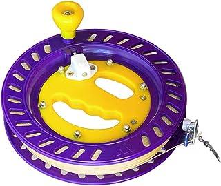 Andoer Roda de aperto do carretel de enrolamento de linha de pipa ao ar livre com ferramenta para voar de pipa de corda
